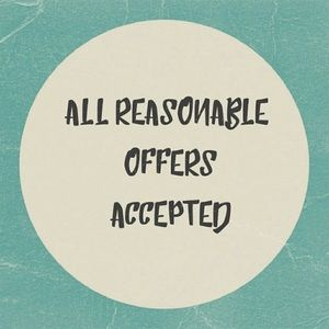 ❗️Only Reasonable Offers are Accepted❗️